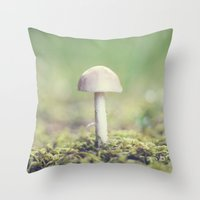 once upon a  time Throw Pillows featuring Once Upon a Time... by Beth - Paper Angels Photography