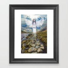 Angels Protection Framed Art Print