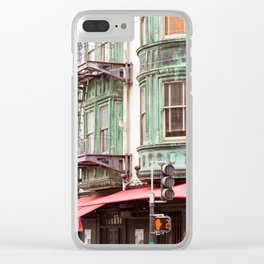 Cafe Zoetrope Clear iPhone Case