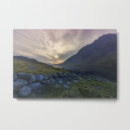 Llyn Ogwen Sunrise Metal Print