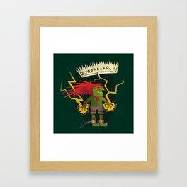 Electric Thunder Framed Art Print