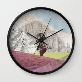 atmosphere 21 · Groove Holmes Wall Clock