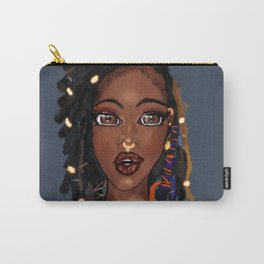 Loc'd Goddess Carry-All Pouch