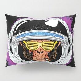 Vintage Space Monkey Pillow Sham