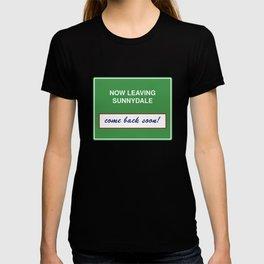 Now Leaving Sunnydale T-shirt