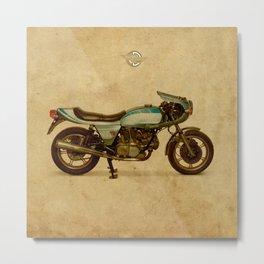 Ducati 900SS Darmah 1979 Metal Print