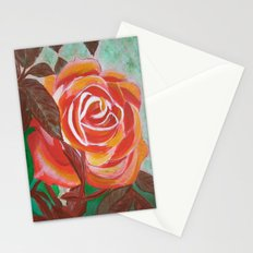 Single Rose Stationery Cards