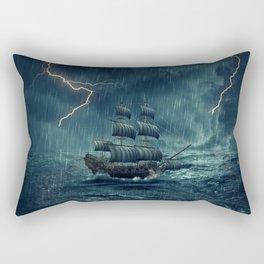 flash ship Rectangular Pillow