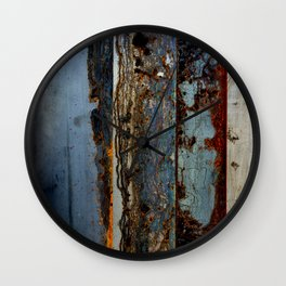 Rain Stained Wall Clock