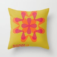 physics Throw Pillows featuring Physics 11 by lynseycreative