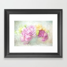summer thoughts Framed Art Print