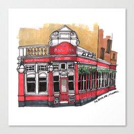 The Royal Oak, London - Travel Illustration Canvas Print
