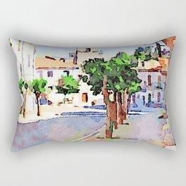 Borrello: street Rectangular Pillow