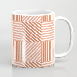 Four types of striped pattern  Coffee Mug