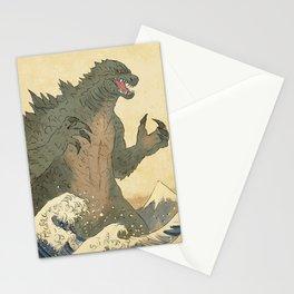 Godzilla Ukiyo-e  Stationery Cards