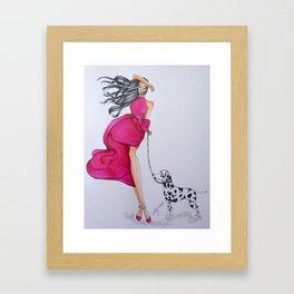 """""""Kyla"""" Framed Art Print"""