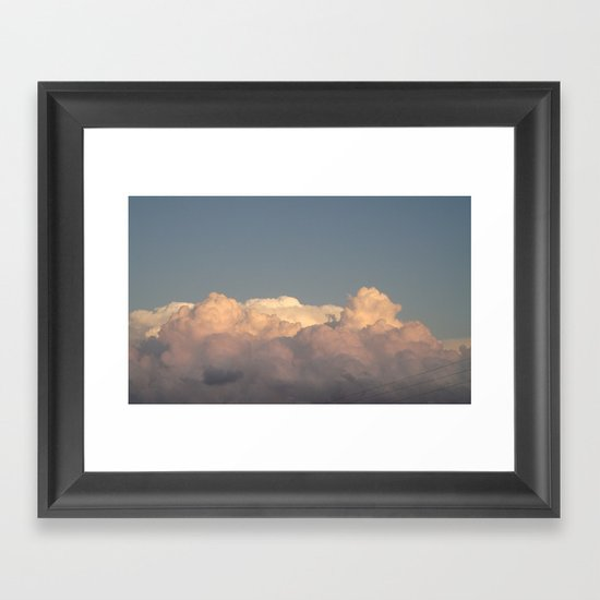 Thick Air Framed Art Print