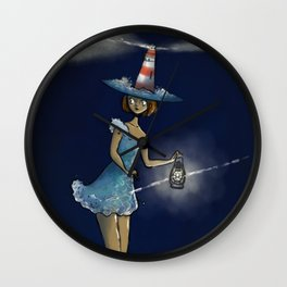 Faro - The Lighthouse Witch Wall Clock