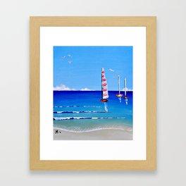 Sail Away by Jolene Ejmont Framed Art Print