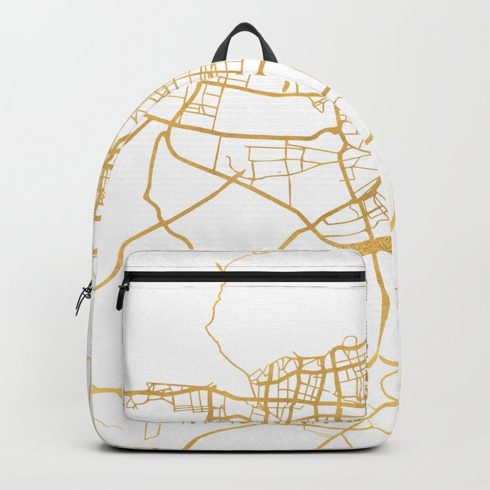 TEHRAN IRAN CITY STREET MAP ART Backpack