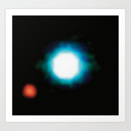 Exoplanet First Ever Image Art Print