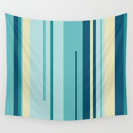 Colorful Lines Wall Tapestry