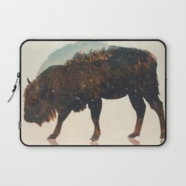 Veluwe: European Buffalo Laptop Sleeve