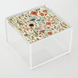 Wildflower Chart Acrylic Box