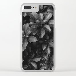 Thriving sans Saturation Clear iPhone Case
