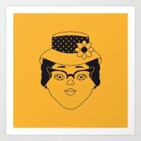 Claire Art Print