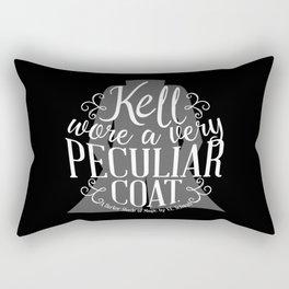 Peculiar (on dark) Rectangular Pillow