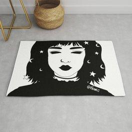 Goth Girl Rug