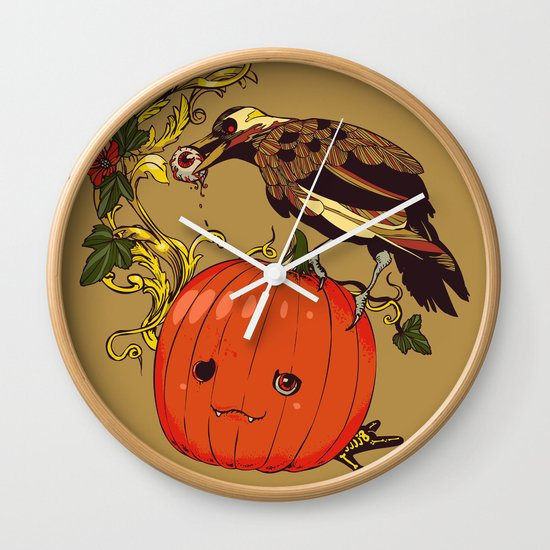 Blind Night Wall Clock