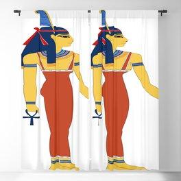 Ancient Egyptian deities Nephthys Isis Anubis pharaoh Blackout Curtain
