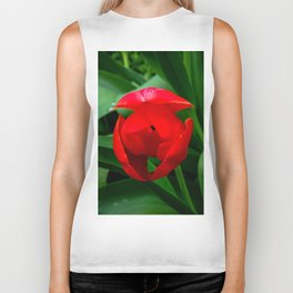 Tulip in Bloom Biker Tank