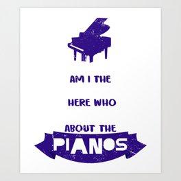 Piano Music Teacher Classical Music Music Teacher Art Print