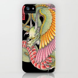 応龍図 WING DRAGON iPhone Case
