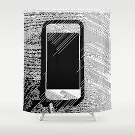 iPhone 5 Wolfram Rule 126 Shower Curtain