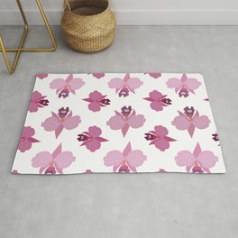 Orchids #18 Rug