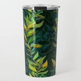 Pond Seaweed Pattern by Robert Phelps Travel Mug