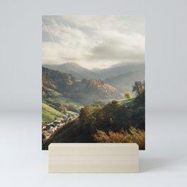 Schwarzwald Autumn - Black Forest Mountains Germany Mini Art Print