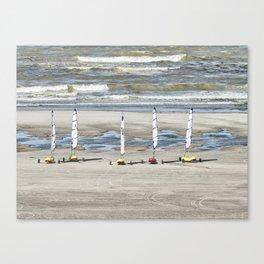 Chars à voile Canvas Print