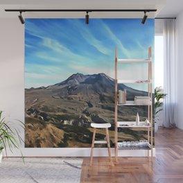 Mount St. Helens Wall Mural