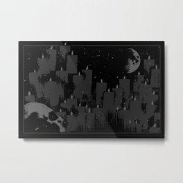 SUMMON Metal Print