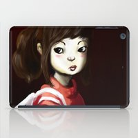 chihiro iPad Cases featuring Spirited by Jaleesa McLean