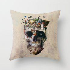 Istanbul Skull 2 Throw Pillow