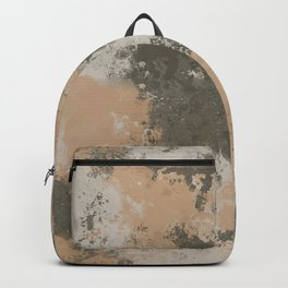Abstract Mud Puddle Backpack