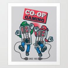 Co-op Gaming Art Print