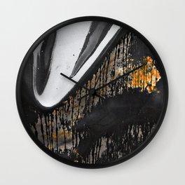 Plastic Rust Wall Clock