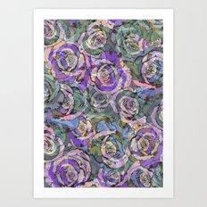 Rosey Art Print